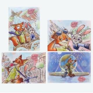 ディズニー(Disney)のディズニーリゾートズートピアクリアホルダー(クリアファイル)