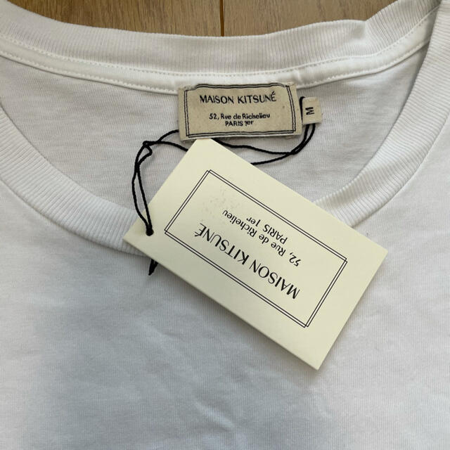 MAISON KITSUNE'(メゾンキツネ)のMAISON KITSUNÉ  TEE-SHIRT FOX PATCH メンズのトップス(Tシャツ/カットソー(半袖/袖なし))の商品写真