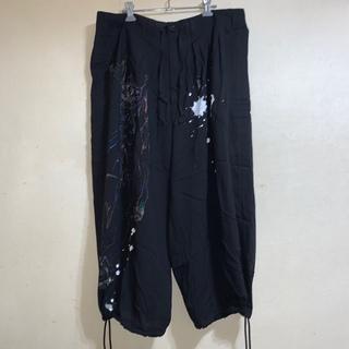Yohji Yamamoto - 新品 タグ付 ヨウジヤマモト Ground Y ワイド パンツ L XL
