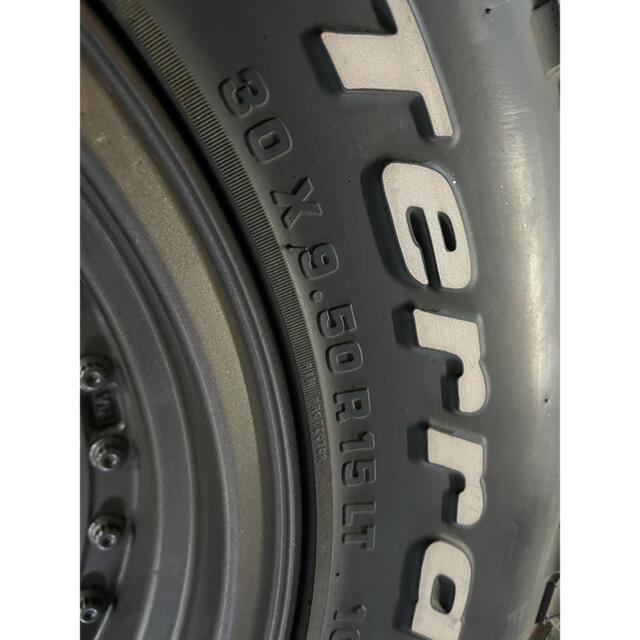 Jeep(ジープ)のグッドリッチ ジムニー ジープ ホイールタイヤセット 自動車/バイクの自動車(タイヤ・ホイールセット)の商品写真