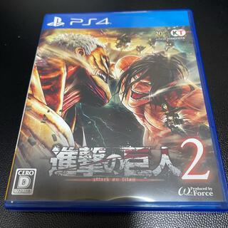 プレイステーション4(PlayStation4)の進撃の巨人2 PS4(家庭用ゲームソフト)