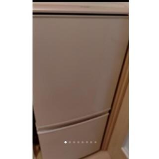 SHARP - シャープ2ドア冷蔵庫ピンク
