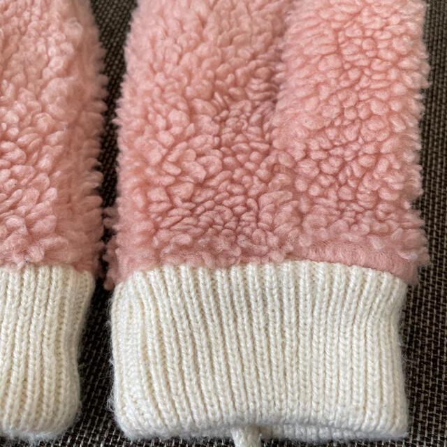 B:MING LIFE STORE by BEAMS(ビーミング ライフストア バイ ビームス)のビーミング ボアミトン キッズ/ベビー/マタニティのこども用ファッション小物(手袋)の商品写真