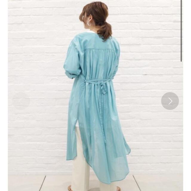 DouDou(ドゥドゥ)のボイルシャツコート レディースのジャケット/アウター(ロングコート)の商品写真