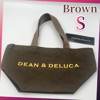 DEAN & DELUCA - DEAN&DELUCA トートバッグ ブラウン Sサイズ キャンバストート 新品
