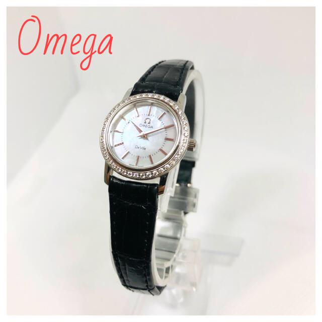 OMEGA(オメガ)のオメガ デビル プレステージ レディース腕時計 De Ville レディースのファッション小物(腕時計)の商品写真