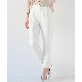 Loungedress - ★新品タグ付き★Loungedress 裾ねじりパンツ オフホワイト Mサイズ