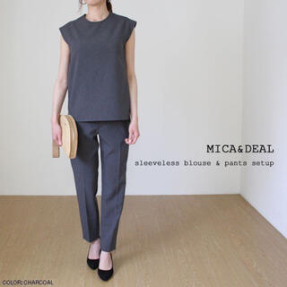 MICA&DEAL セットアップ グレー36