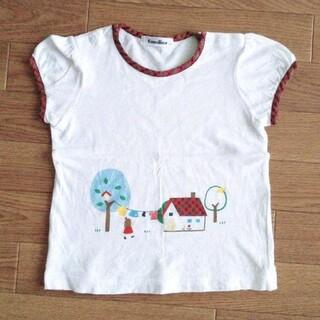 familiar - familiar Tシャツ ファミリア チェック 110