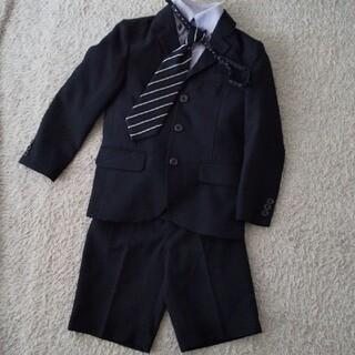 ヒロミチナカノ(HIROMICHI NAKANO)の120 中古  hiromichi nakano  スーツ 七五三 入学式 4点(ドレス/フォーマル)