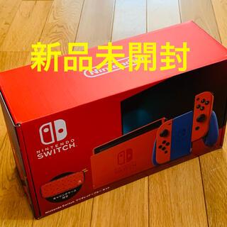 任天堂 - Nintendo Switch ニンテンドースイッチ本体 マリオレッド×ブルー