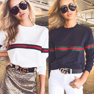 限界お値下げ商品♣️美品♣️オシャレ 綺麗モノグラム柄レディース長袖Tシャツ