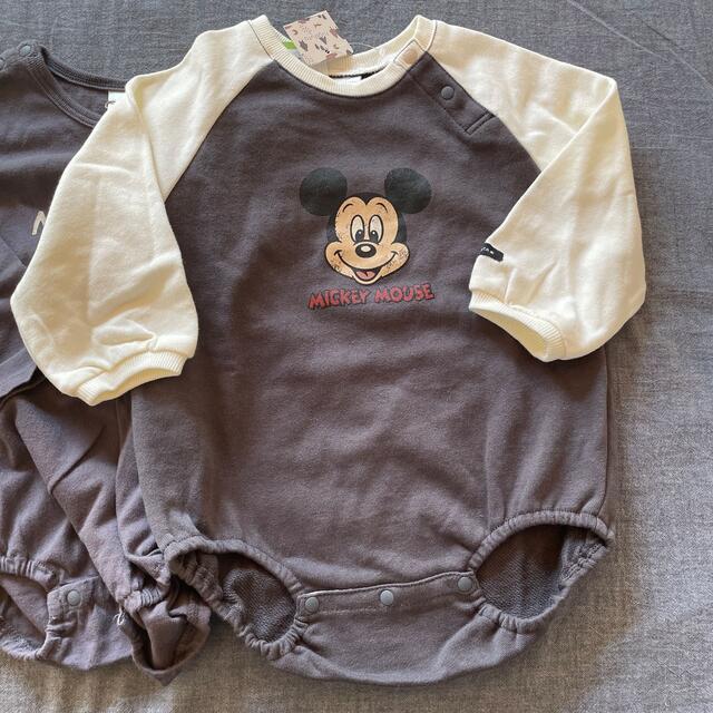futafuta(フタフタ)の長袖☺︎ ロンパース80cm 新品未使用 2点セット キッズ/ベビー/マタニティのベビー服(~85cm)(ロンパース)の商品写真