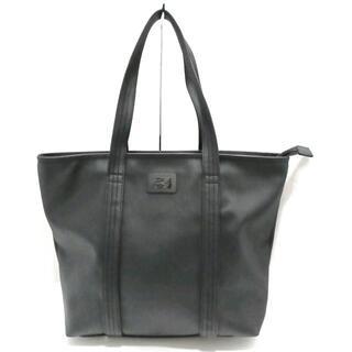 ラコステ(LACOSTE)のラコステ美品  - 黒 PVC(塩化ビニール)(ショルダーバッグ)