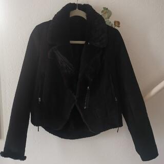 エディグレース(EDDY GRACE)のファームートンコート EDDY GRACE 黒 ブラック(ライダースジャケット)