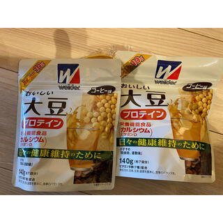 ウイダー(weider)のおいしい大豆プロテイン コーヒー味 140g*2(プロテイン)