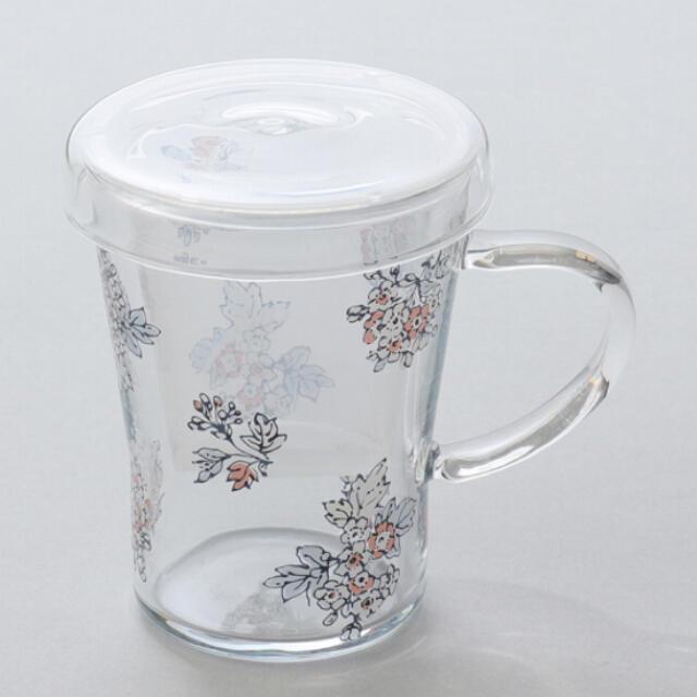 AfternoonTea(アフタヌーンティー)の茶漉し付きティーカップ インテリア/住まい/日用品のキッチン/食器(グラス/カップ)の商品写真