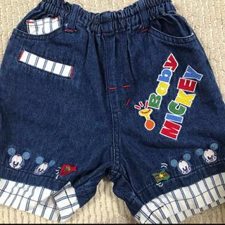 ディズニー(Disney)のベビーミッキー ディズニーベビー 80センチ 半ズボン パンツ ハーフパンツ(パンツ)