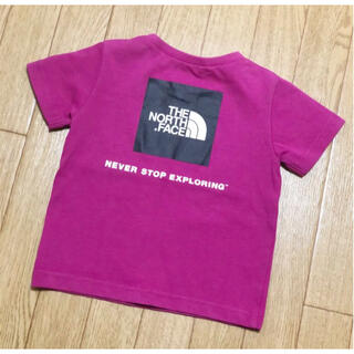 THE NORTH FACE - THE NORTH FACE ノースフェイス 半袖Tシャツ ピンク 80cm
