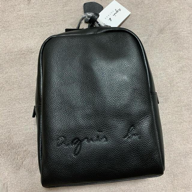 agnes b.(アニエスベー)のアニエスベー   レザー   リュック  バッグパック 新品 レディースのバッグ(リュック/バックパック)の商品写真