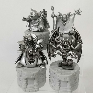 スクウェアエニックス(SQUARE ENIX)の[レイ様専用]ドラゴンクエスト ボトルキャップ 非売品 シドー銀&ゾーマ銀他 (ゲームキャラクター)