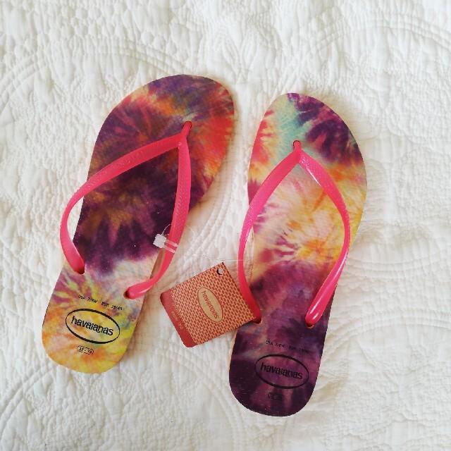 havaianas(ハワイアナス)の新品!ハワイアナス ビーチサンダル レディースの靴/シューズ(ビーチサンダル)の商品写真