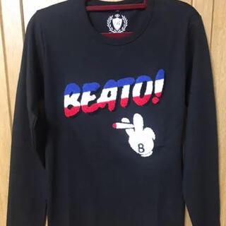 ハイドロゲン(HYDROGEN)のベアート ロンT  黒Sサイズ(Tシャツ/カットソー(七分/長袖))