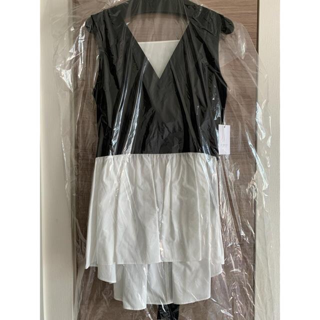 Drawer(ドゥロワー)の新品未使用 seventen miho kawahito バックリボントップス レディースのトップス(シャツ/ブラウス(半袖/袖なし))の商品写真