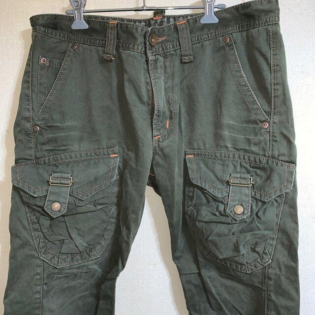 EDWIN(エドウィン)の新品 EDWIN エドウィン ミリタリー カーゴ パンツ L メンズのパンツ(ワークパンツ/カーゴパンツ)の商品写真