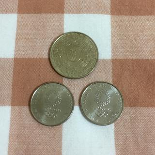 【特価】記念硬貨3枚セット その6(スポーツ)