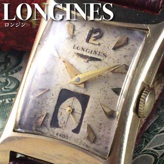 ロンジン(LONGINES)の★激レア★1940's/14金無垢/ロンジン/手巻き/メンズ腕時計/WW1298(腕時計(アナログ))
