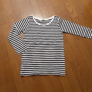 ニコアンド(niko and...)のniko and 長袖ボーダーTシャツ Lサイズ(Tシャツ(長袖/七分))