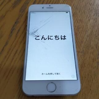 アイフォーン(iPhone)のジャンク iPhone 6 Silver 64GB(スマートフォン本体)
