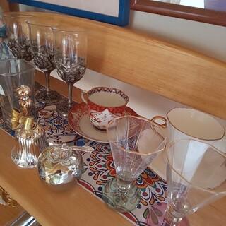 食器 ワイングラス ティーカップ トレー