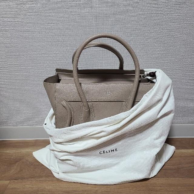 celine(セリーヌ)のCELINE ラゲージ ミニサイズ セリーヌ  レディースのバッグ(ハンドバッグ)の商品写真
