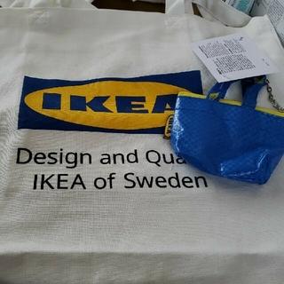 新品 IKEA イケア トートバッグ クノーリグ ミニバック エフテルトレーダ