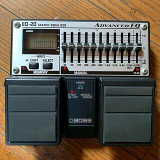 ボス(BOSS)のBOSS EQ-20 GRAPHIC EQUALIZER/ボス イコライザー(エフェクター)