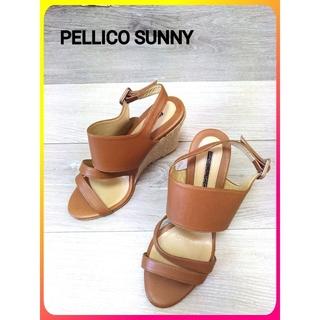 PELLICO - 【PELLICO SUNNY レザー サンダル】ペリーコ サニー 靴 レディース