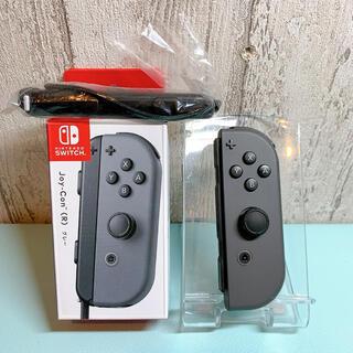 Nintendo Switch - ほぼ未使用 人気カラー 廃盤グレー Switch 右側 ジョイコンJoy-Con