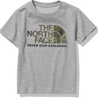 THE NORTH FACE - 【新品・未使用】120cm ノースフェイス Tシャツ カモロゴティー