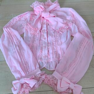 Angelic Pretty - アンジェリックプリティ ブラウス ピンク
