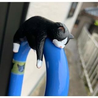 フェリシモ(FELISSIMO)の【残り1匹】ハチワレ 傘タグ 【フェリシモ猫部】(傘)