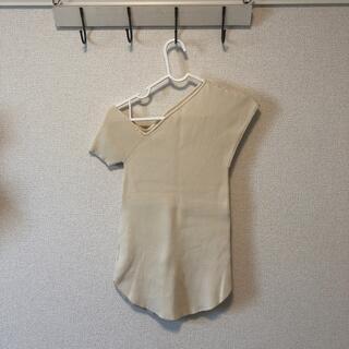 ラグナムーン(LagunaMoon)のラグナムーン デザインサマーニット(ニット/セーター)
