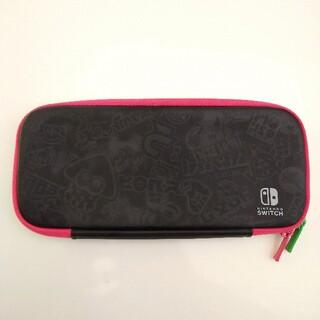 ニンテンドースイッチ(Nintendo Switch)のスプラトゥーン Splatoon Switch ケース スプラトゥーン2(携帯用ゲームソフト)