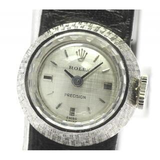 ロレックス(ROLEX)のロレックス K18WG プレシジョン カメレオン  レディース 【中古】(腕時計)