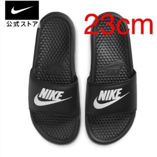 NIKE - 【新品未開封】NIKE ナイキ ベナッシ サンダル 23cm ブラック