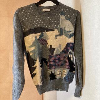 編み込みセーターM(ニット/セーター)