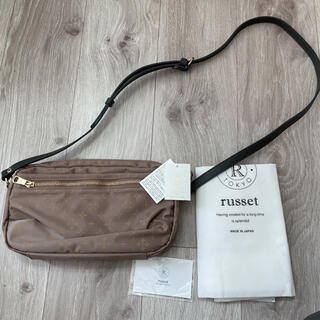 Russet - russet ラシット ショルダーバッグ ブラウン 2way