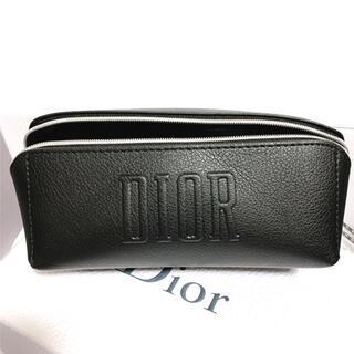 ディオール(Dior)のディオール ノベルティポーチ ブラック  ペンケース(ポーチ)