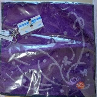 ニシカワ(西川)の羽生結弦 衣装タオル & キーホルダー 2本 羽生結弦展(スポーツ選手)